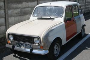RENAULT 4 with Renault 5 Gordini Alpine engine Reduced reserve