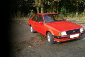 FORD ESCORT MK3 XR3 Photo