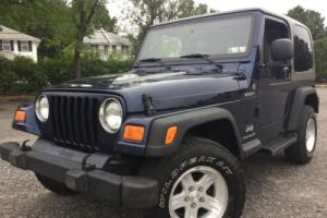 2004 Jeep Wrangler Sport V6 - 4x4 - Clean Carfax - No Rust - 5spd