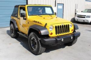 2011 Jeep Wrangler Sport 3.8L V6 Automatic 4WD 2 Door SUV