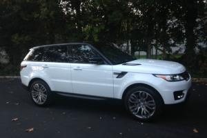 2015 Land Rover Range Rover Sport supercharged sport