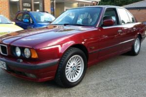 LOVELY BMW 530i V8 E34 AUTOMATIC WITH GEN 84000 MILES, NEW MOT AND FULL HISTORY Photo