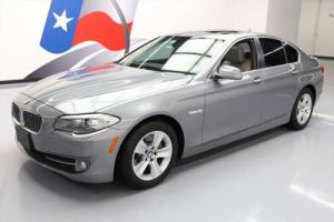 2012 BMW 5-Series 528I SEDAN TURBO SUNROOF NAV PARK ASSIST