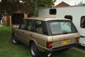 1991 ROVER RANGE ROVER CLASSIC VOGUE EFI BARN/GARAGE FIND Photo