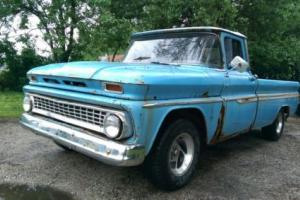 1963 CHEVROLET C10 - PICK UP - RARE MANUAL - TRUCK - V8 - PROJECT CAR Photo