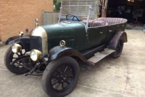1925 BULLNOSE MORRIS 4 SEATER OPEN TOP TOURER CLASSIC CAR VINTAGE VERY ORIGINAL Photo