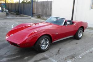 1973 CHEVROLET CORVETTE CONVERTIBLE 350V8 AUTOMATIC P/STEERING