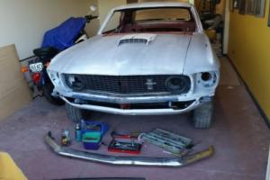 1969 Mustang Coupe L H Drive Restoration project