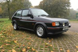 1989 FORD FIESTA XR2 BLACK .... no reserve ...... 1 off Photo