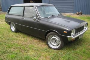 MAZDA 1300 WAGON 13B ENGINEERED TUBBED STREET/DRAG CAR - SUIT R100