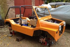Mini Moke winter project