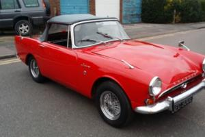 Sunbeam Alpine Convertible 1967, Restored & dry stored for 25 years Photo