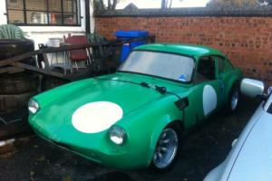 TRIUMPH GT6 1968, Barn find, Race car