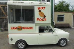 classic mini pickup / burger wagon 1972 Photo