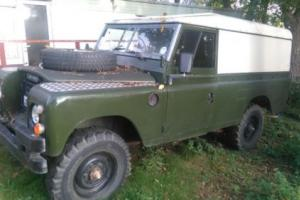 "Land Rover Series III 3 109"" Ex military  2.25 Petrol Photo"