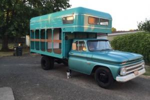 1966 Chevrolet Other Pickups Ordered new as cab and chassis now has live stock bed