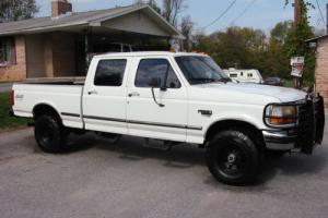 1997 Ford F-250 HD Old Body CREW Shortie 4WD 7.3 Texas Powerstroke Photo