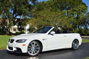 2013 BMW M3 2 Door Convertible W/Premium Package