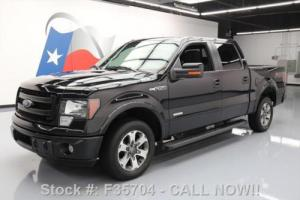 2014 Ford F-150 FX2 SPORT CREW ECOBOOST REAR CAM