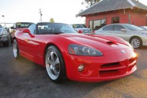 2003 Dodge Viper SRT-10 2dr Roadster Convertible 2-Door V10 8.3L