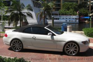 2007 BMW 6-Series Custom Sport Luxury BMW 6 Series Convertible