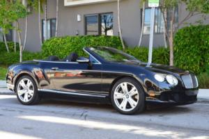 2013 Bentley Continental GT 2dr Convertible