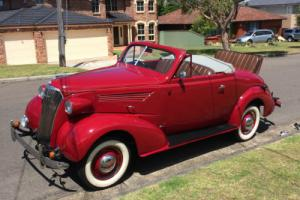 1937 holden bodied chev sports roadster only184 made only 5 known left body 105