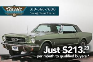1965 Ford Mustang great cruising Pony Car with Muscle a car attitude