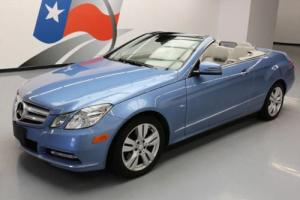 2012 Mercedes-Benz E-Class E350 CABRIOLET P1 NAV REAR CAM Photo