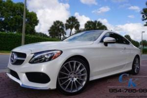 2017 Mercedes-Benz C-Class C300 COUPE AMG PKG HEADSUP 19 AMG WHEELS BRAND NEW!