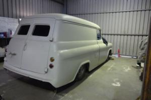 1959 Chev panel truck delivery project BBC