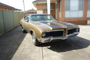 1970 Oldsmobile 442 - Very Rare Original Coupe 455 engine from the USA