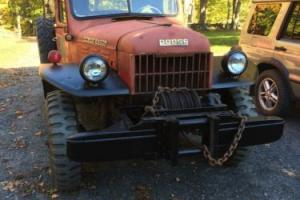 1950 Dodge Power Wagon B-2 PW