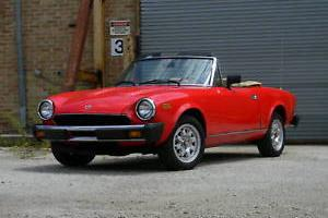1982 Fiat Other 2DR CONVERTI