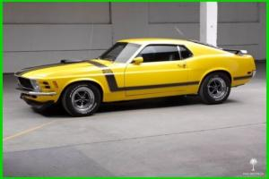 1970 Ford Mustang Boss 302 (Restored & Documented)