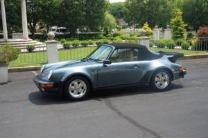1987 Porsche 911 Carrera 2dr Convertible Photo