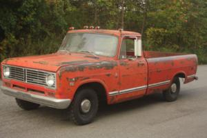 1973 International Harvester 1110 PICKUP TRUCK