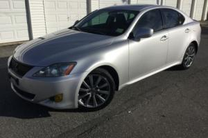 2008 Lexus IS Rare Lexus IS250 - 6spd - Clean CarFax - NAV
