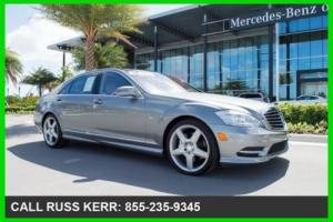 2012 Mercedes-Benz S-Class S550 Certified Unlimited Mile Warranty MB Dealer