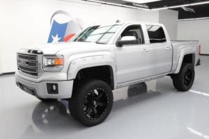 2014 GMC Sierra 1500 SIERRA SLT CREW 4X4 LIFTED HTD LEATHER NAV