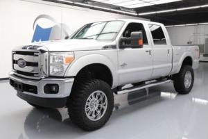 2012 Ford F-250 LARIAT CREW DIESEL FX4 4X4 LIFTED