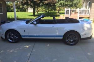 2012 Ford Mustang SHELBY GT500 CONVERTIBLE 2012