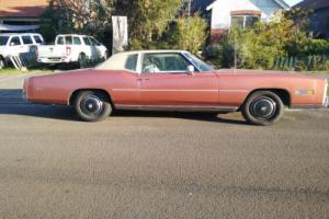 76 CADILLAC ELDORADO SHES A BEAST 8.2lt HISTORY TO SYDNEYS UNDERWORLD MAY SWAP