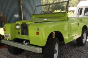 EASY PROJECT. 1961 Landrover series 2a  88' Running order.