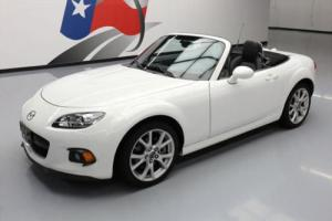 2013 Mazda MX-5 Miata GRAND TOURING CONVERTIBLE LEATHER