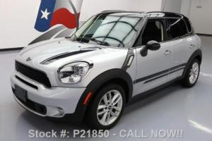 2013 Mini Countryman COOPER  S AUTO PANO SUNROOF Photo