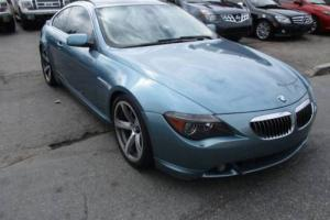 2004 BMW 6-Series 645Ci 2dr Coupe Coupe 2-Door Automatic 6-Speed