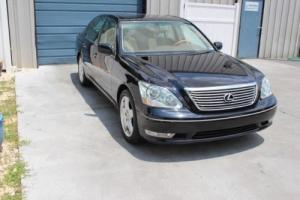 2005 Lexus LS Luxury Package V8 Sedan Navigation