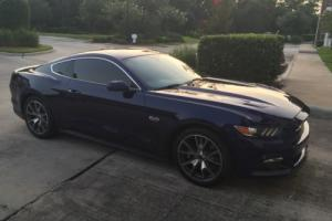 2015 Ford Mustang Kona Blue Metallic 50th Limited Edition GT