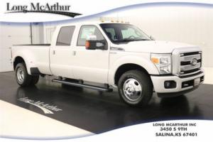 2016 Ford F-350 PLATINUM CREW CAB LARIAT SUPER DUTY MSRP $58540